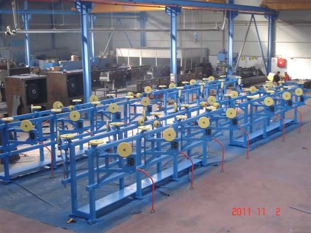 PAY-OFFs FOR GALVANIZING LINE